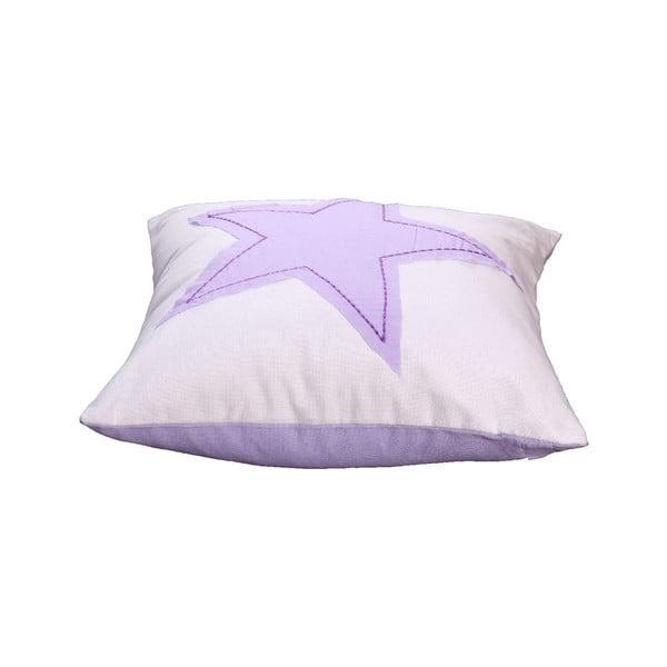 Poszewka na poduszkę Estrella 40x40 cm, liliowa