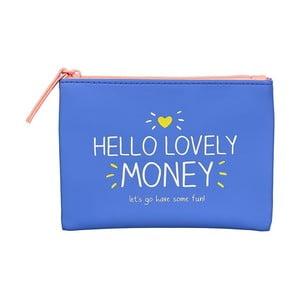 Niebieskia portmonetka na drobne Happy Jackson Money