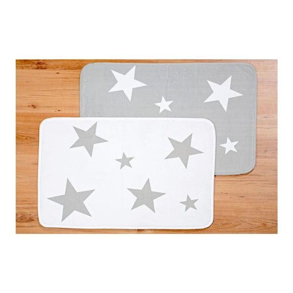 Zestaw 2 podkładek Grey Star, 50x70 cm
