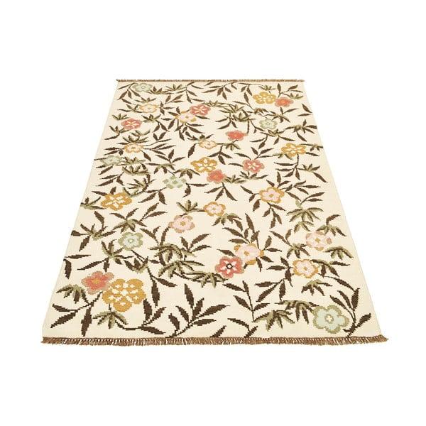 Dywan wełniany Kilim Flowers 176, 160x230 cm