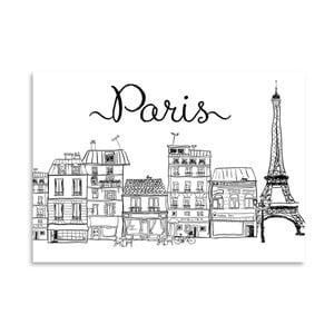 Plakat Americanflat Paris, 30x42 cm