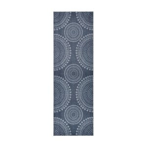 Szary dywan do kuchni HanseHomeFlowerDots, 50x150cm