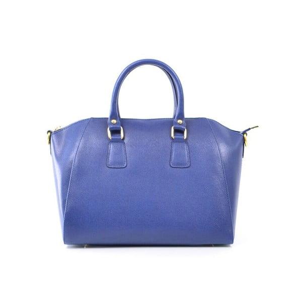Skórzana torebka Clementine, niebieska