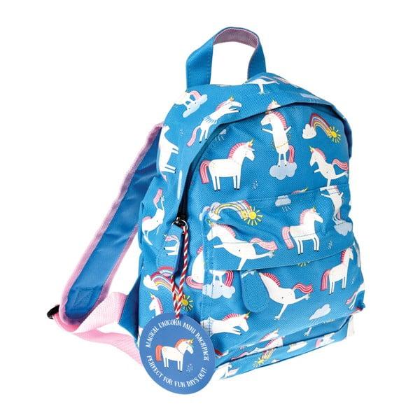 Niebieski plecak w jednorożce Rex London Magical Unicorn