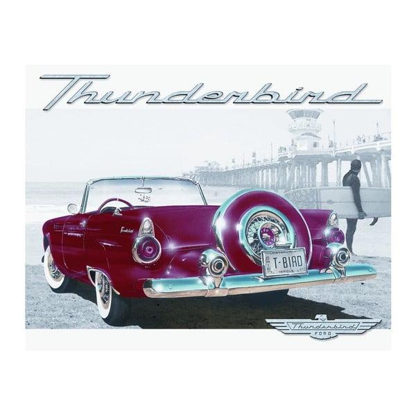 Blaszana tabliczka Thunderbird, 30x40 cm
