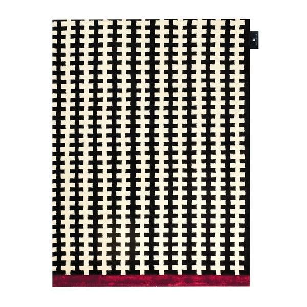 Dywan Riff Black White, 140x200 cm