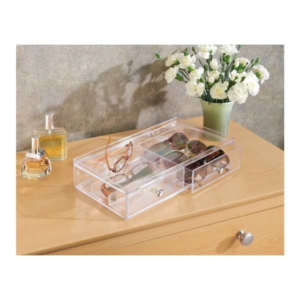 Organizer z 2 szufladami InterDesign Drawer