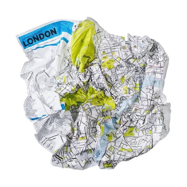 Zgnieciona mapa Palomar Londyn