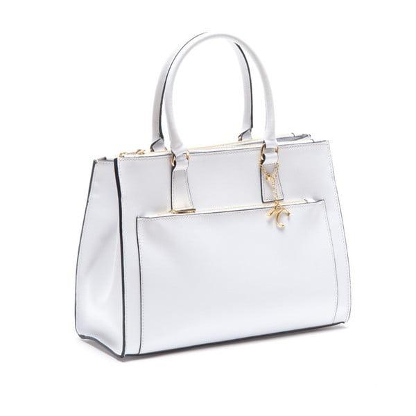 Skórzana torebka Renata Corsi 444 Bianco