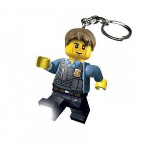 Świecący breloczek LEGO Policjant