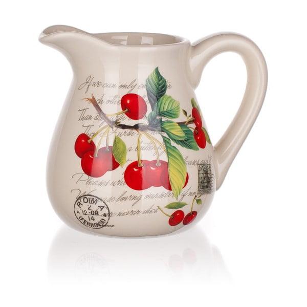 Dzbanek ceramiczny Banquet Cherry, 880 ml