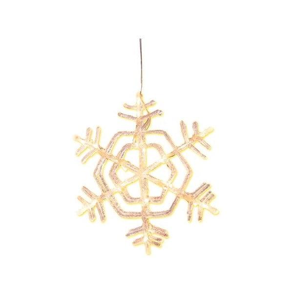 Świecąca dekoracja Crystal Snowflake