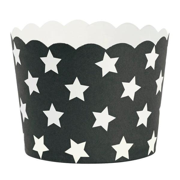 Zestaw 24 papilotek na muffiny Miss Étoile Stars