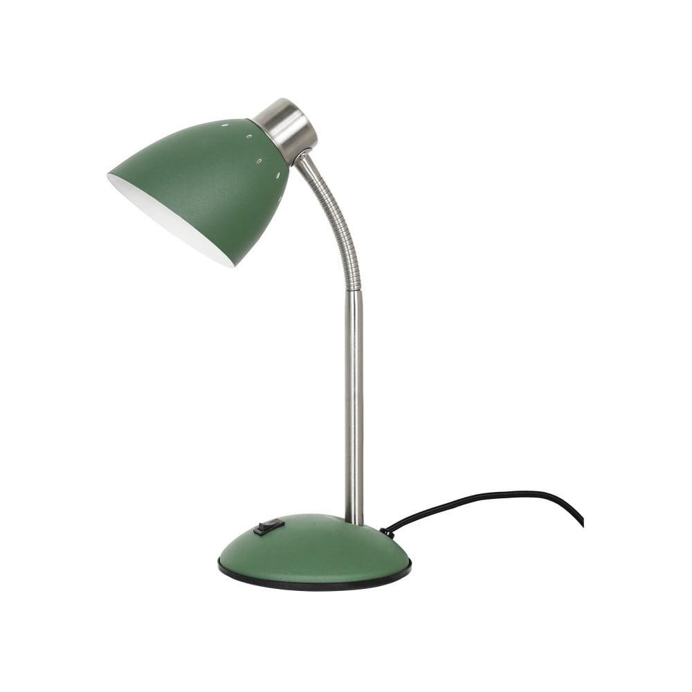 Zielona lampa stołowa Leitmotiv Dorm