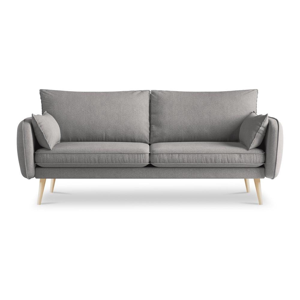 Szara sofa Kooko Home Lento, 198 cm
