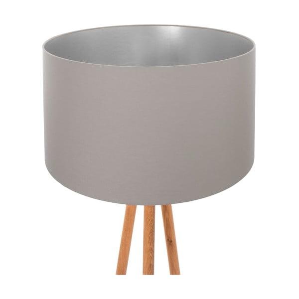 Lampa stojąca Taupe Silver