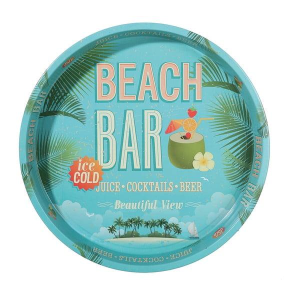 Okrągła taca Beach Bar