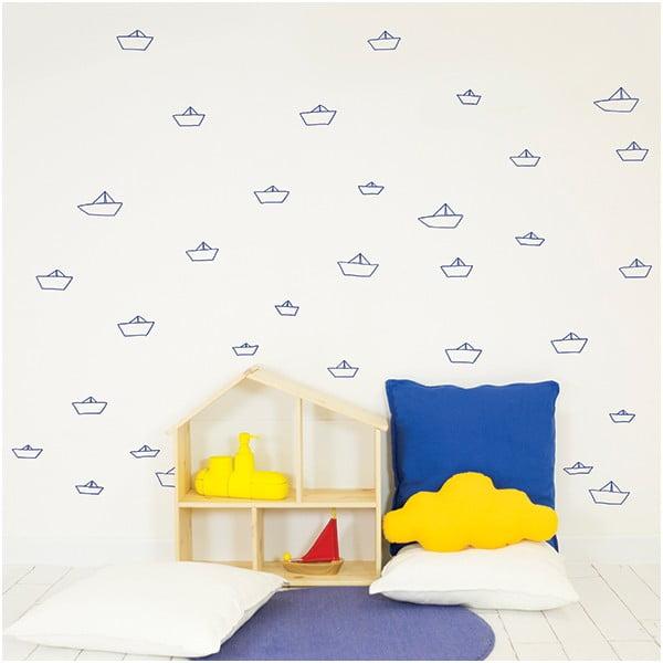 Naklejka dekoracyjna na ścianę Little Ships
