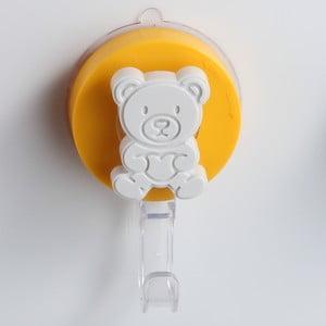 Żółty haczyk z przyssawką ZOSO Bear