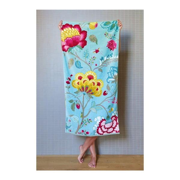 Ręcznik Floral Fantasy Light Petrol, 70x140 cm