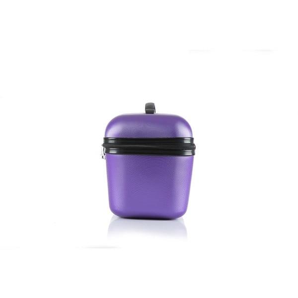Kosmetyczka podróżna Vanity, fioletowa
