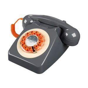 Telefon stacjonarny w stylu retro Serie 746 Grey