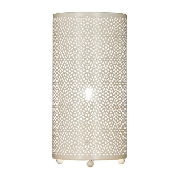 Lampa stołowa Aneta Mystik White