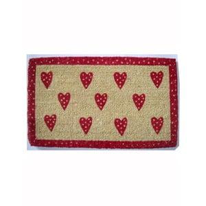 Wycieraczka Hearts, 73x43 cm