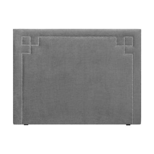 Jasnoszary zagłówek łóżka THE CLASSIC LIVING Nicolas, 180x120 cm