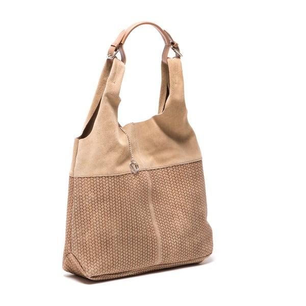 Skórzana torebka Mangotti 875 Fango