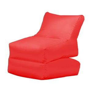 Czerwony leżak składany Sit and Chill Lato