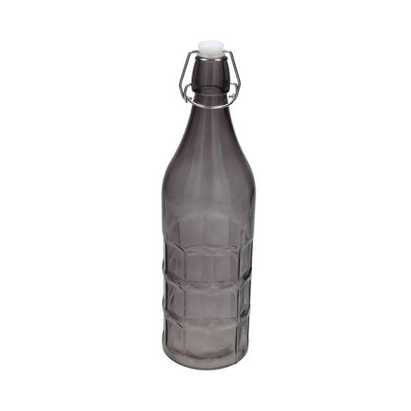 Szklana butelka Tag Galben 1l, szara