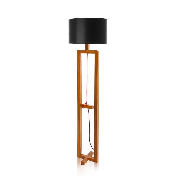 Lampa stojąca Dal Black  Walnut