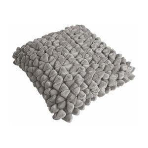 Beżowoszara poduszka ZicZac Pebble, 45x45 cm