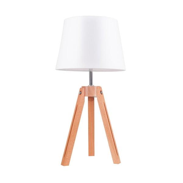 Lampa stołowa Tripod Britop, biała