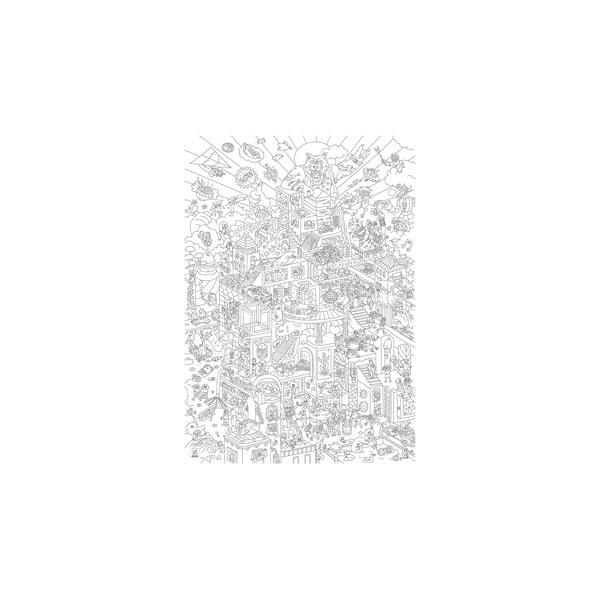 Kolorowanka Party (70 x 100 cm)