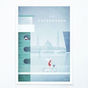 Plakat Travelposter Copenhagen, A2