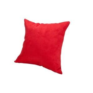 Poduszka z mikrowłókna Pillow 40x40 cm, truskawkowa