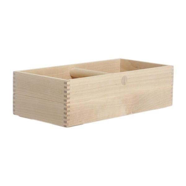 Pudełko na pieczywo Iris Birch, 31x15,4x8,4 cm