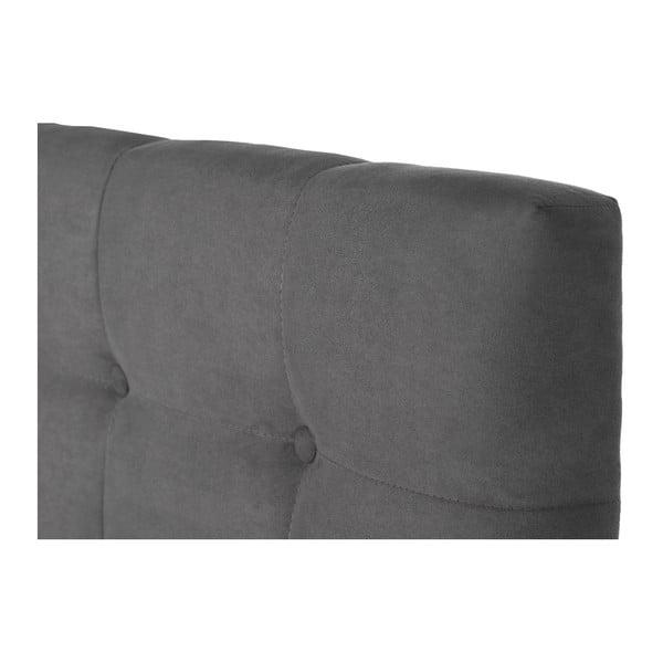 Szary zagłówek łóżka Stella Cadente Planet, 180x118 cm