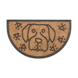 Wycieraczka Hamat Dog Halfround, 45x75 cm