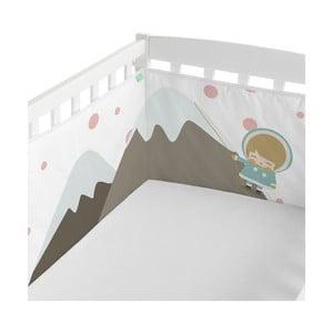 Ochraniacz do łóżeczka Happynois Skymo Day, 210x40 cm