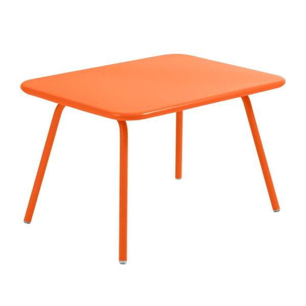 Pomarańczowy stół dziecięcy Fermob Luxembourg