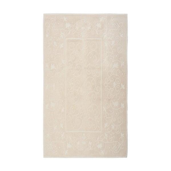 Kremowy dywan bawełniany Floorist Camaria, 80x300cm