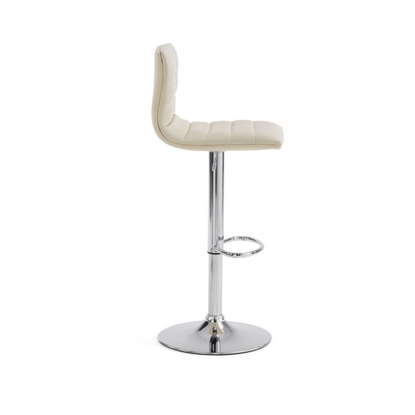 Krzesło barowe Danae, perłowe