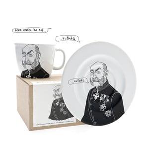 Kubek i talerz Franz, życzliwy