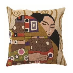 Poszewka na poduszkę Klimt The Embrace, 45x45 cm