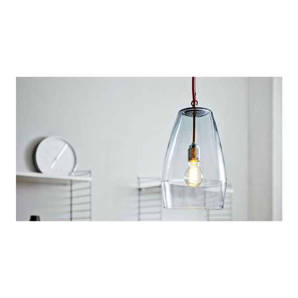Lampa sufitowa Glasleuchte Red