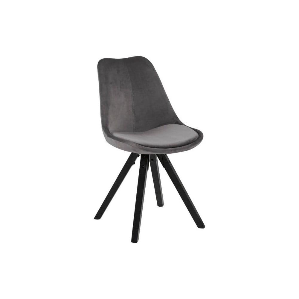 Szare krzesło Actona Dima