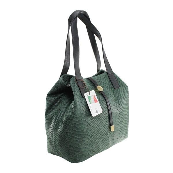 Zielona torebka skórzana Giulia